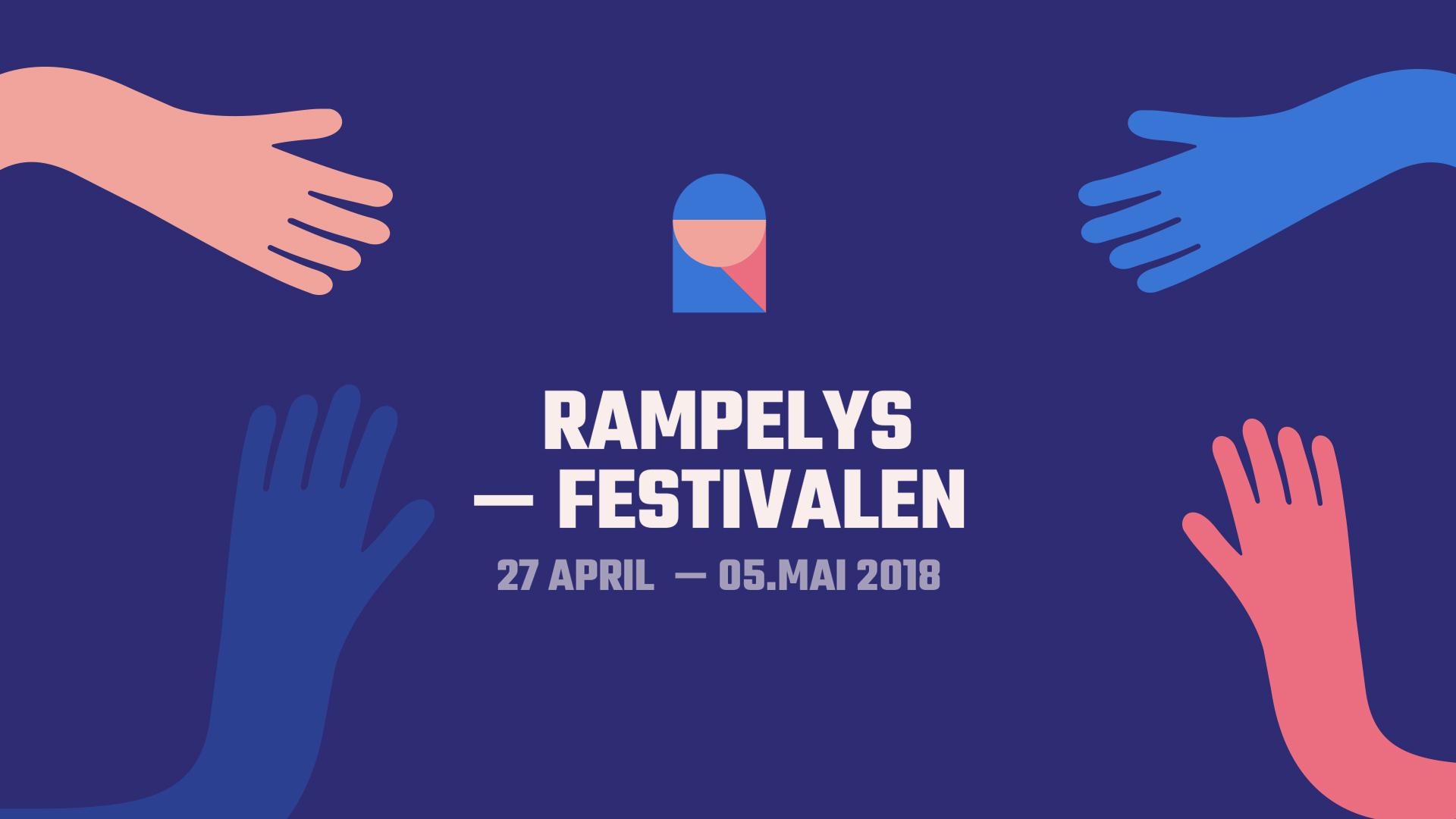 Rampelysfestivalen åpner fredag 27. april!